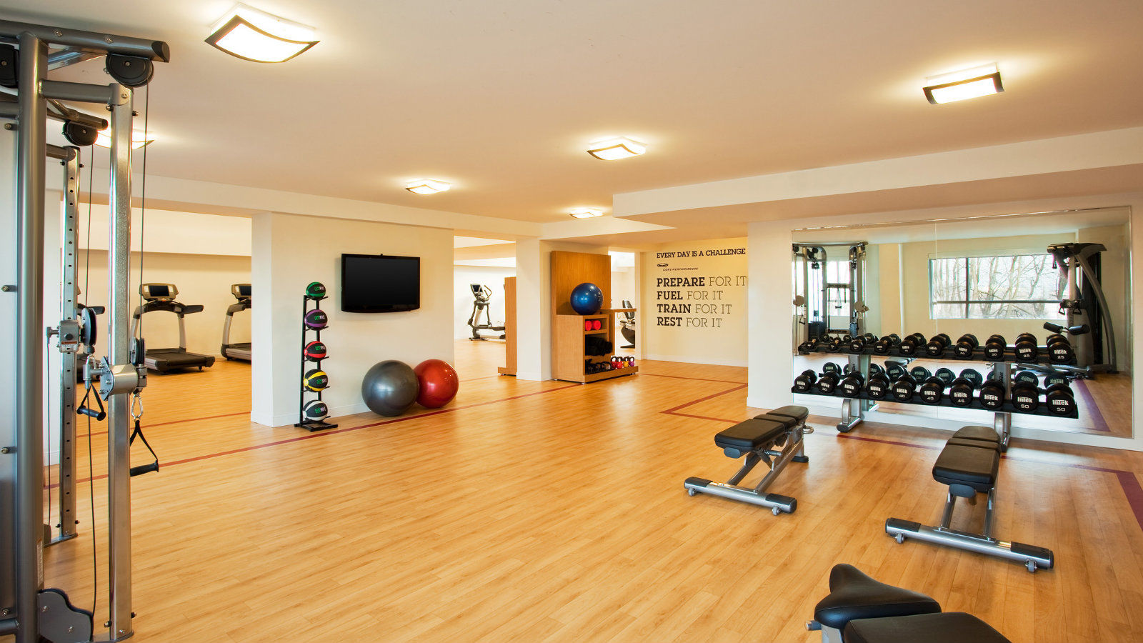 Fitness Center| Sheraton Valley Forge Hotel